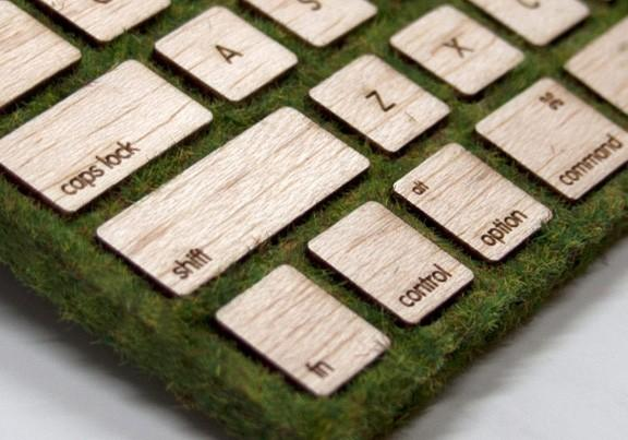 Экологически чистая клавиатура
