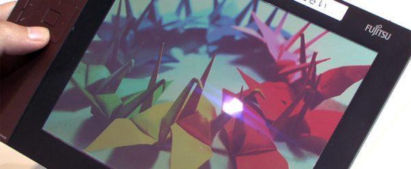 цветной e-paper-дисплей