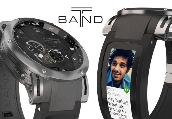 «Умный» ремешок T-Band