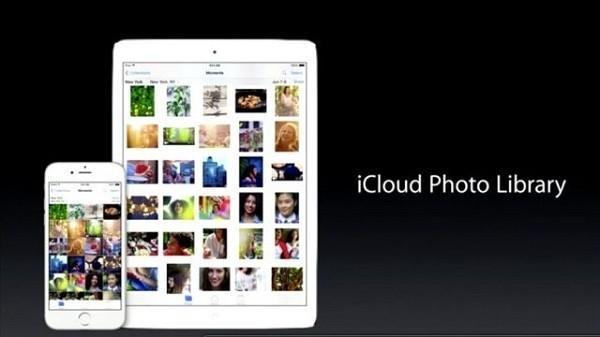 Фото библиотека на iCloud