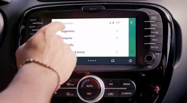 автомобили с ОС Android