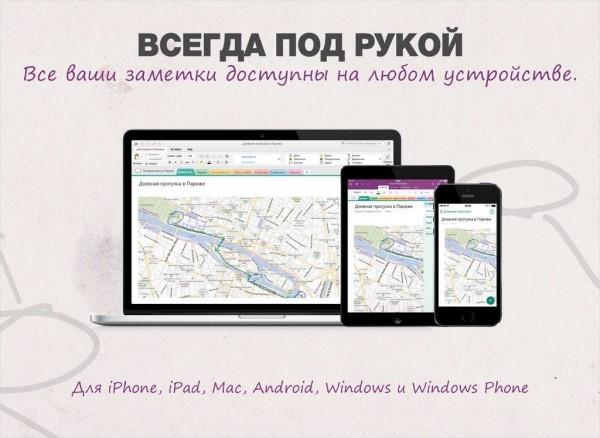 Microsoft OneNote для iPad