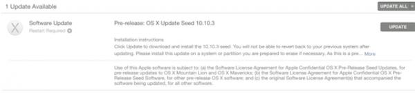 OS X 10.10.3 с приложением Photos