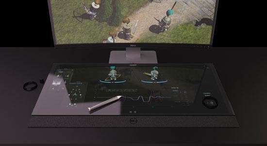 смарт-стола с 5К-монитором