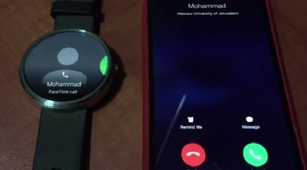 Часы Android