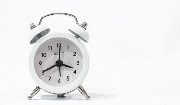 сменить будильник