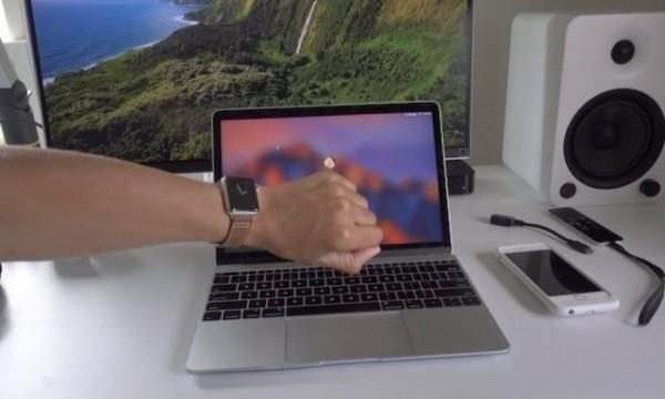 Разблокировка с помощью Apple Watch