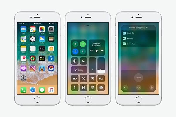iOS 11 для iPhone
