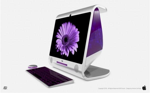 концепт нового iMac в стиле G3