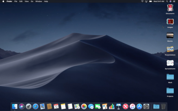 macOS Mojave