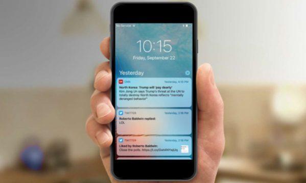Как скрыть содержимое уведомлений на iPhone