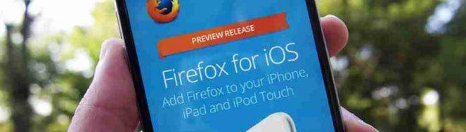 браузер Firefox для iOS