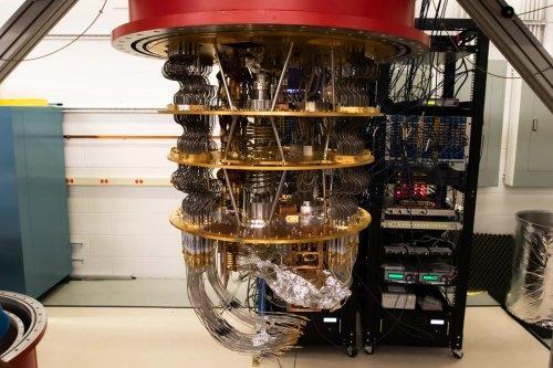 Процессор квантового компьютера Google #2