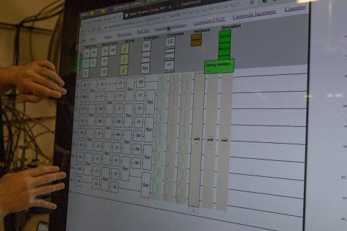 Программирование квантового компьютера Google