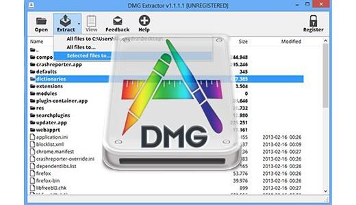 файлы .dmg